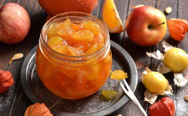 Рецепт варенья из тыквы с яблоками и цитрусовыми